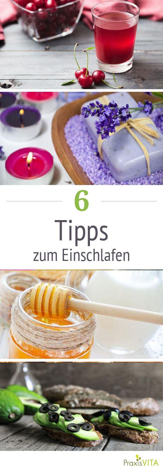 Studien belegen, dass der Duft von Lavendel beruhigt und so bei Einschlafstörungen helfen kann...