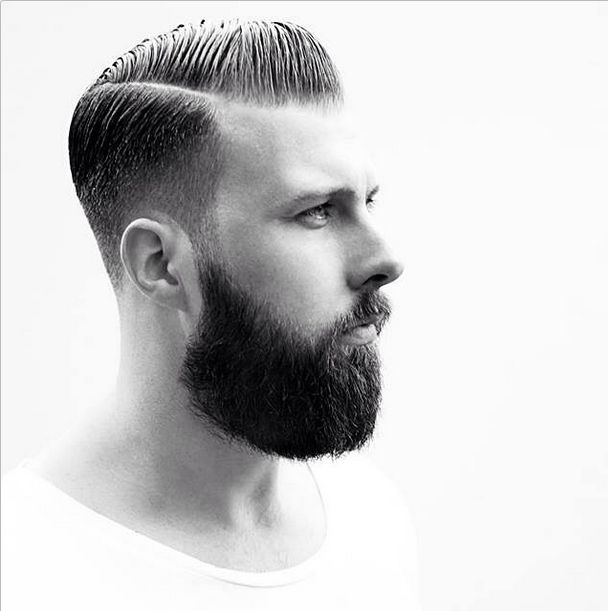 Razor Faded Pompadour - Male Hairstyles for 2015 (only German) @Snobtop