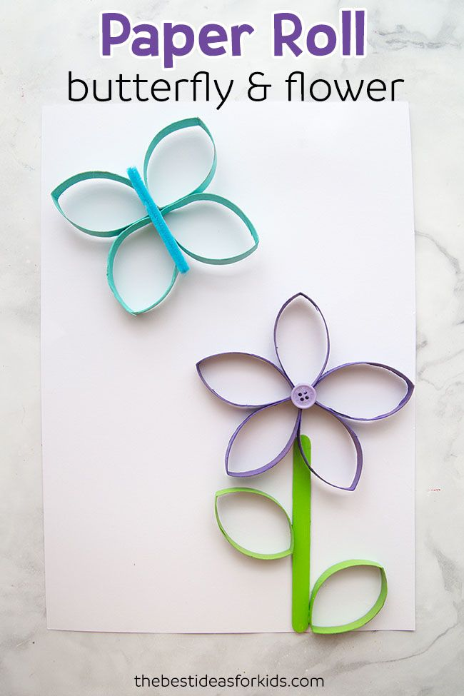 Paper Roll Flowers The Best Ideas For Kids Diy Summer Crafts Paper Towel Roll Crafts Spring Crafts For Kids