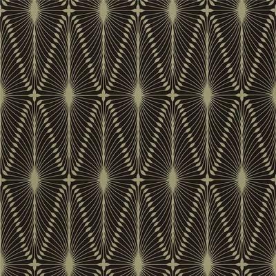 Black / Gold - 60775 - Otto - Arkona - Harlequin Wallpaper on eBay!