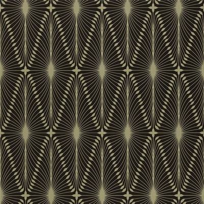 Black / Gold - 60775 - Otto - Arkona - Harlequin Wallpaper on eBay!