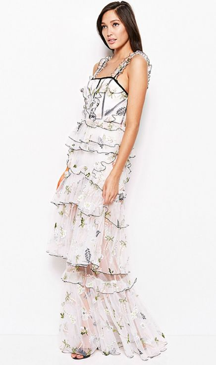 Alice McCALL - She Moves Me Dress - Porcelain Berry