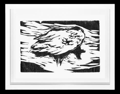 Black Vulture I - Heraldo Candido     Veja outras obras deste artista em nossa galeria de arte online - http://tintaed.com/artistas/heraldo-candido