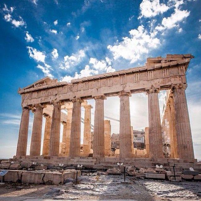 The #Parthenon #Acropolis #Athens #Greece