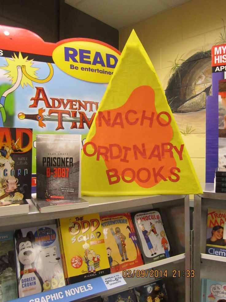 Nacho Ordinary Books! Scholastic Fiesta Book Fair 2014