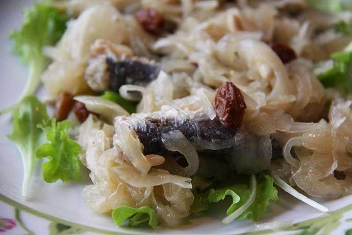 Conosci i piatti tipici Veneti? Sarde in saòr.