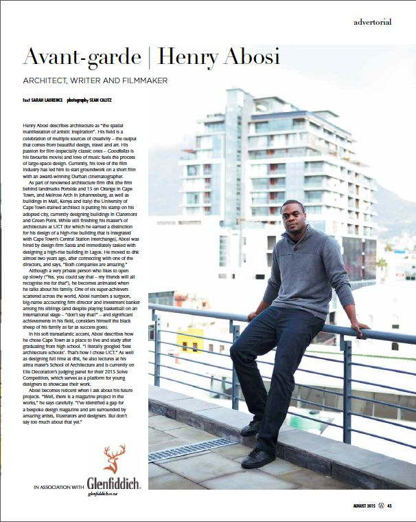 15 minutes with Henry Abosi