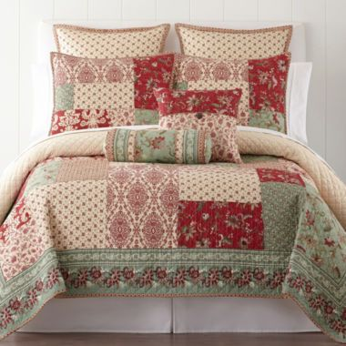 Home Expressions™ Baton Rouge Quilt & Accessories  found at @JCPenney