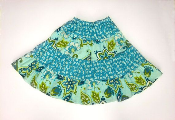 Twirl skirt pattern Size 1-10 Easy sew pattern pdf by berrykidz