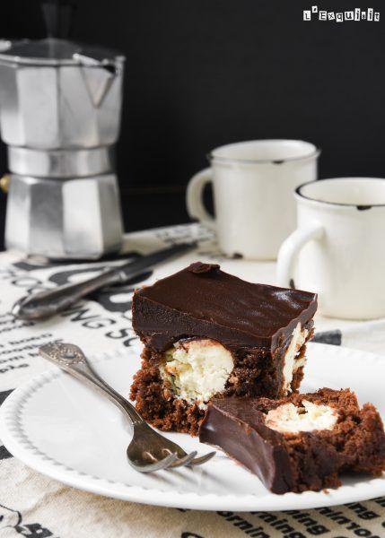 Tarta de chocolate rellena de mascarpone {sin gluten} - L´Exquisit