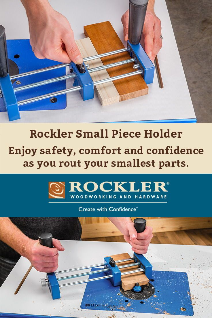 Rockler Small Piece Holder In 2018 Jigs Pinterest Woodworking