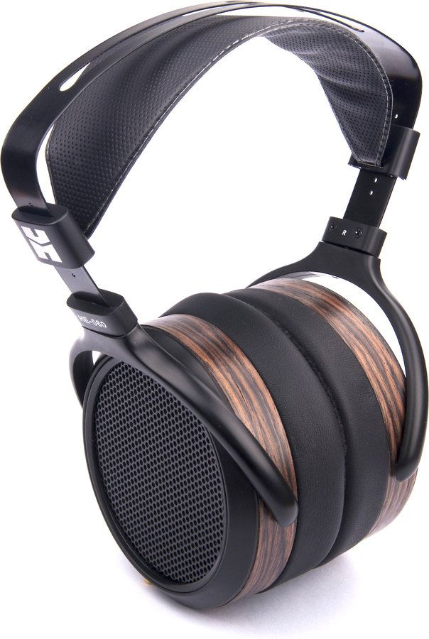 HiFiMAN HE-560. Lose yourself. HiFiMAN headphones dazzled us the first time we heard them. So our expectations were high for their HE-560. They did not disappoint. Their inviting sound is warm and wide-open.