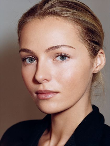 Beauty Inspiration: glowing skin with natural looking makeup   allure.com