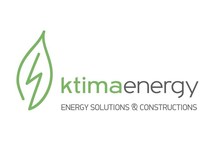 Logo Design for KtimaEnergy Solutions & Constructions Company, by Egg Visual Communication. www.egg.com.gr