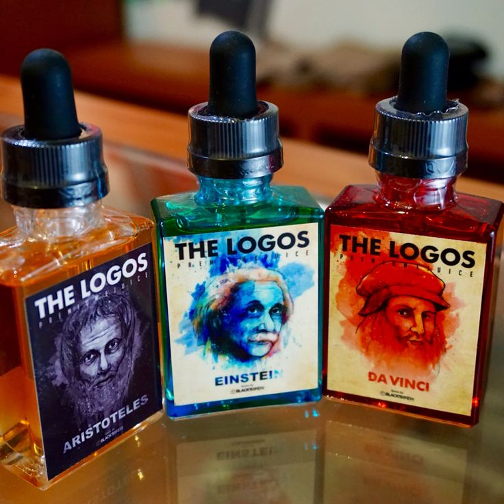 The Logos. Premium E-Liquid Made in Yogyakarta, Indonesia.  Da Vinci : Strawberry Banana Vanilla Einstein : Tobacco Honeydew Aristoteles : Cinnamon  #personalvaporizer #vaporizer #eliquid #liquid #localproduct #vanillacube