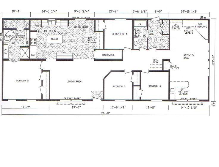 best 25+ mobile home floor plans ideas on pinterest | modular home