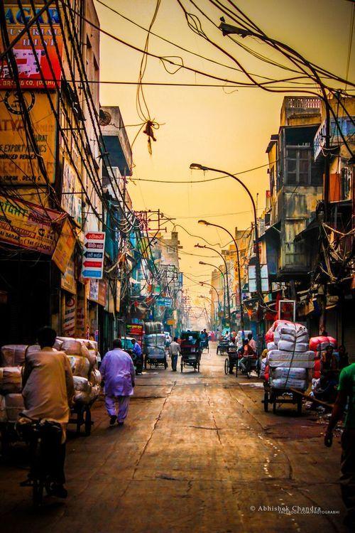 framememories123: india street early morning