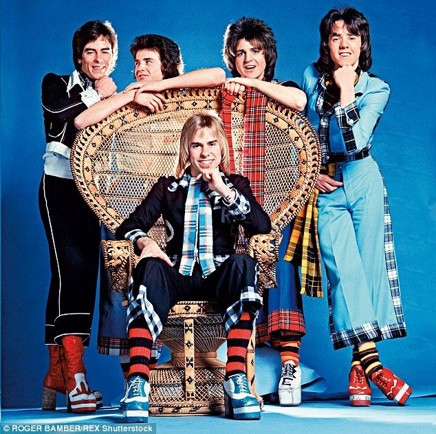 Forty years ago the Bay City Rollers were kings (pictured from left-to-right: Alan Longmui...