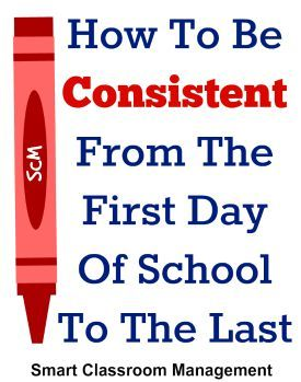 There is great freedom in consistency. Because when you follow your classroom management plan to a tee, you remove the guesswork. You eliminate the stress of lecturing, correcting, and trying to convince your students to behave. You wipe away the friction and resentment. The responsibility for misbehavior, then, falls entirely on them—with none of it …