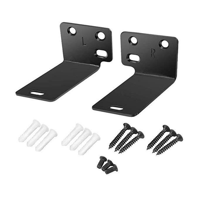 Black Mounting Wall Bracket For Bose Wb 300 Sound Touch 300 Soundbar Soundbar 500 Soundbar 700 Speaker Sound Bar Wall Brackets Bracket