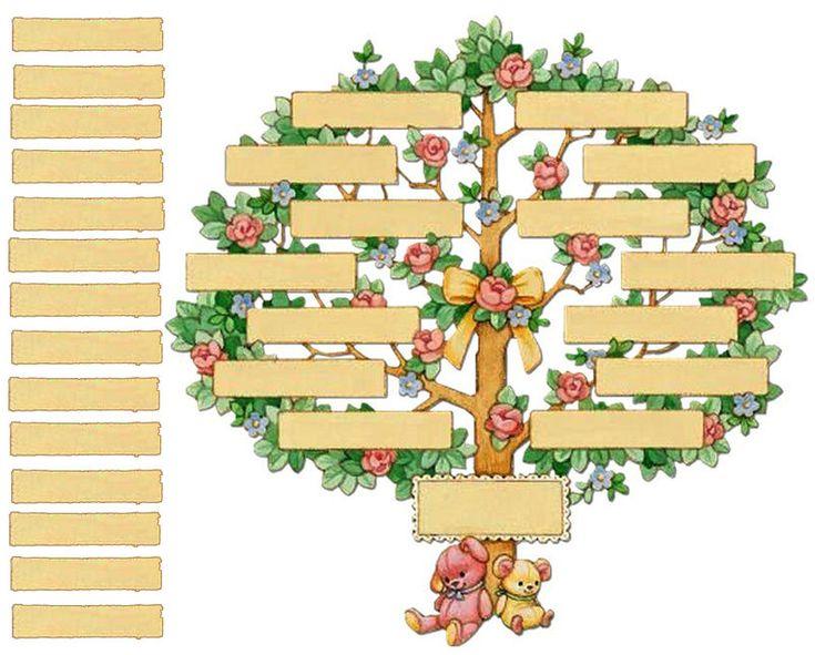 Les 25 meilleures id es de la cat gorie arbre g n alogique - Photo d arbre a imprimer ...