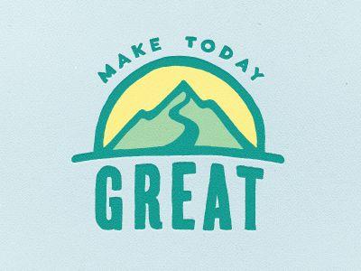 Dribbble - Make it Great by Zach Roszczewski