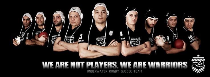 CAMO team (Montreal, QC Canada) - (Underwater Rugby, Unterwasserrugby, Uppopallo, Rugby Subacuatico)