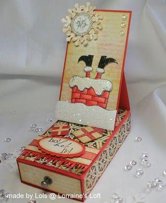 Lorraine's Loft: Altered Matchboxes :-)