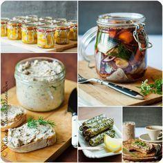 Rezepte für Selbstgemachte Essens Mitbringsel. Geschenke aus der Küche herzhaft und süß.