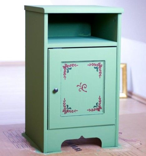 Möbel Kreidefarbe Landhausstil
