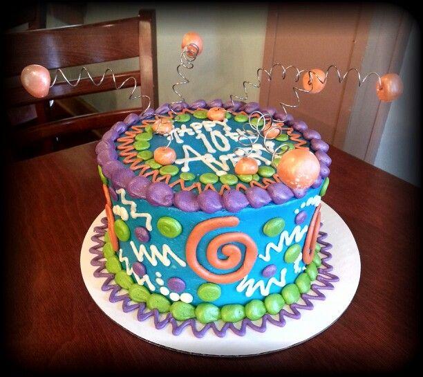 Crazy Cake For Tweens Twentyone Cakes Pinterest