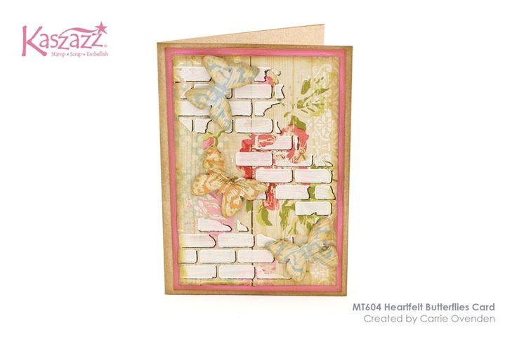 MT604 Heartfelt Butterflies Card