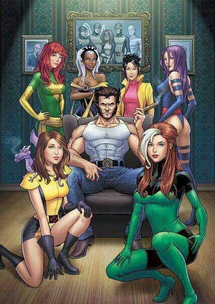 X Men Girl Characters 54 best X-women...