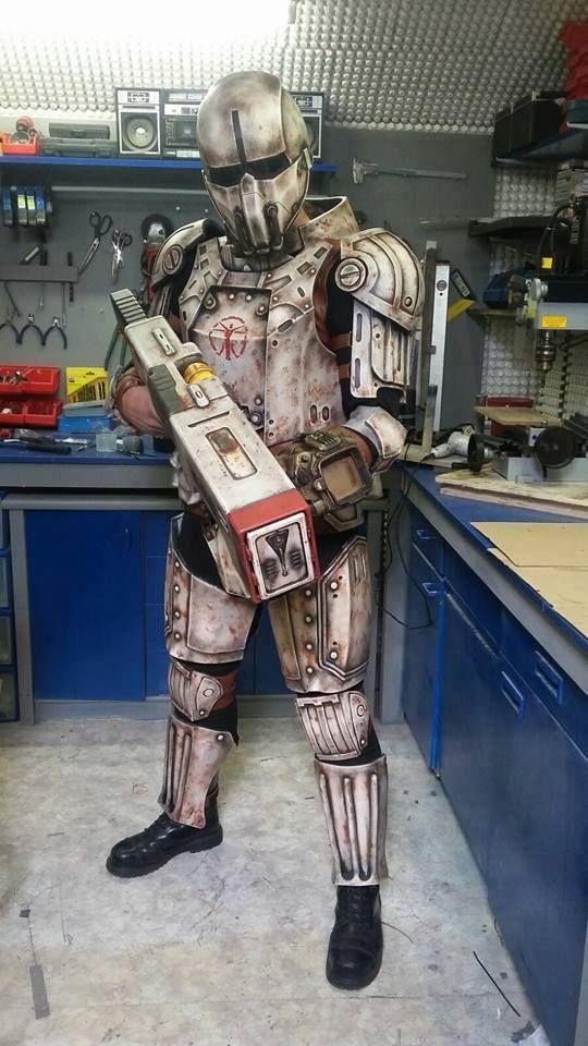 Institute combat armor