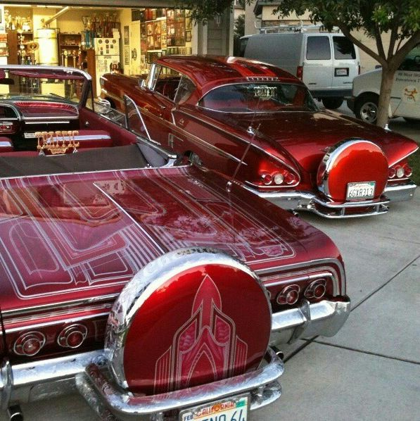 52 Best Images About Lowriders On Pinterest 64 Impala