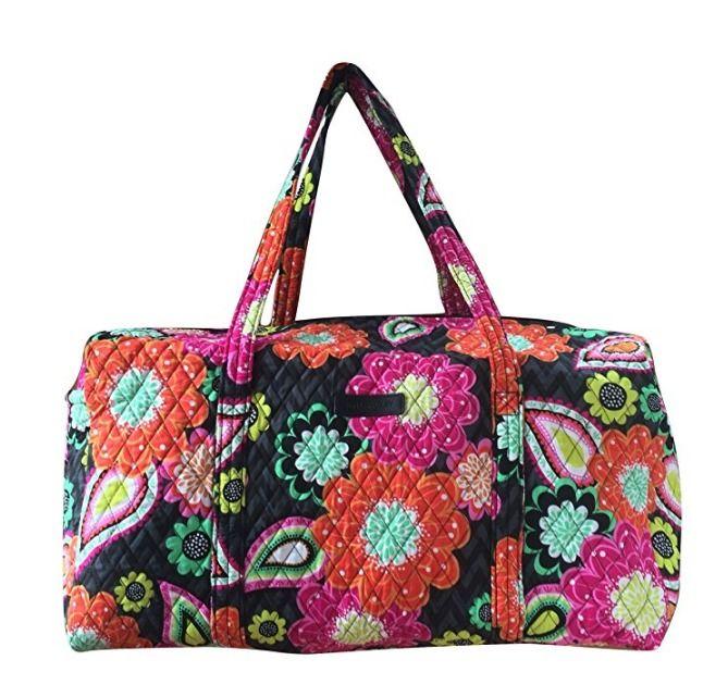 Vera Bradley Large Duffel Bag #VeraBradley #DuffleGymBag