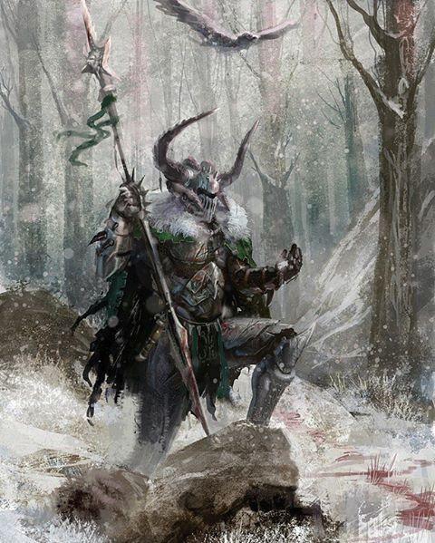 Lord Sigewulf, senhor dos lobos, bárbaro guerreiro