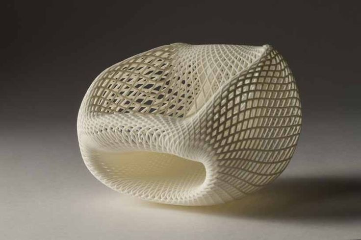keisuke fujiwara: wrapping chair molded from styrofoam mesh - designboom   architecture & design magazine