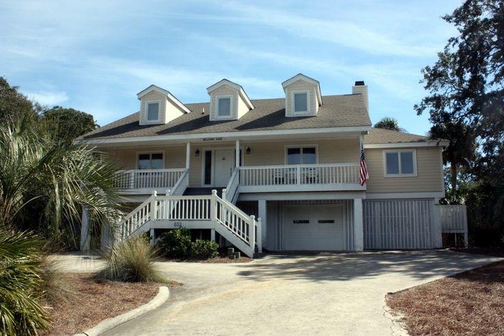 Private Homes Vacation Rental - VRBO 55551 - 6 BR Fripp Island House in SC, Fripp Island, South Carolina Beach Vacation Rental