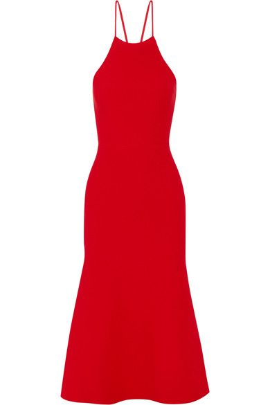 Alexander Wang - Cutout Stretch-knit Dress - Red - medium