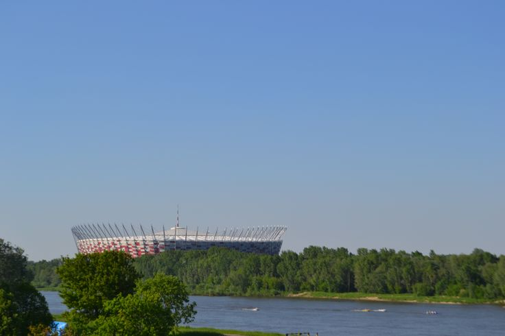 The Kazimierz Górski National Stadium, Warsaw, Poland.