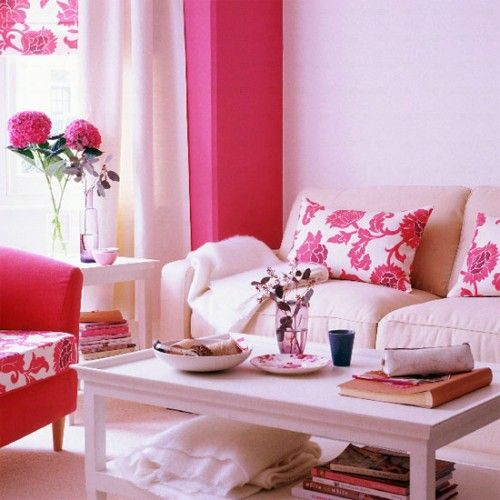 45 best Hubba Bubba Rooms images on Pinterest | Pink living rooms ...
