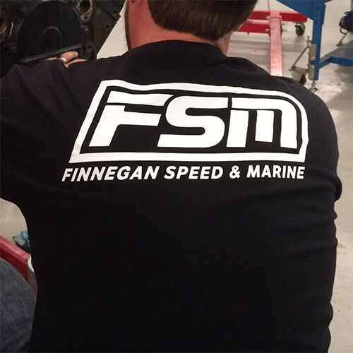 "You've been asking me for it, now it's here! My first ever T-shirt! This Official FSM T-shirt includes my full 12"" logo on the back, with a smaller 3"" FSM on the front. Get 'em while you can. Limited quantities available. (Note: Mike and TIG Welder are not included in purchase.)"