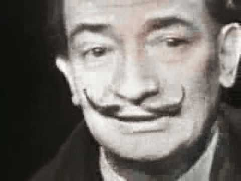 Mike Wallace interview with Salvador Dali (1958)