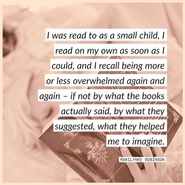 Quotable - Marilynne Robinson