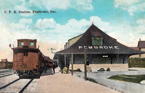 Railway stations in Pembroke Ontario