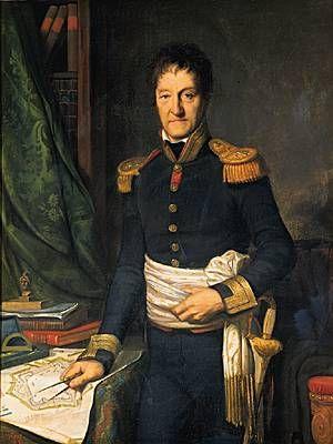 Lazare Carnot. - Mathématicien, physicien, général et homme politique français. Né à Nolay (province de Bourgogne, actuelle Côte-d'Or) le 13 mai 1753 et mort en exil à Magdebourg (actuelle Allemagne) le 2 août 1823.