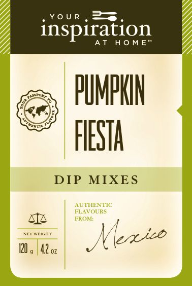 Pumpkin Fiesta Dip  Earthy wholesome goodness with pumpkin, olives red bell peppers, chives. Combined with the award-winning pumpkin pie spice and fajita spice blends. A new favourite! To purchase go to www.sharonking.yourinspirationathome.com.au