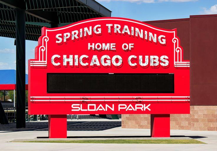 Cubs: Sloan Park, Mesa, AZ