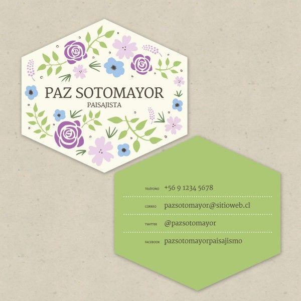 Tarjeta Nº6 Violeta | Diseño & Papel | Tienda Online